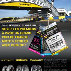 Les offres spéciales de Dunlop aux motards