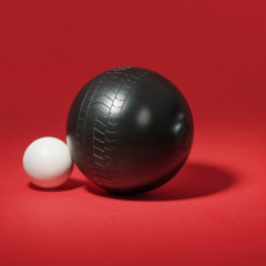 Vroum Pétanque : les boules qui laissent des traces de pneu