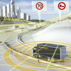 Continental développe le secteur des véhicules industriels vers une conduite autonome
